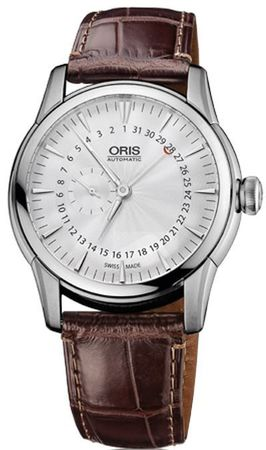 Oris Artelier Small Second Pointer Date Men's Watch 01 744 7665 4051-07 1 22 73FC