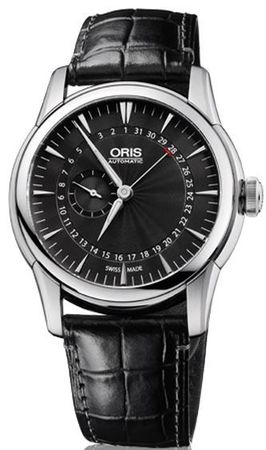 Oris Artelier Small Second Pointer Date Men's Watch 01 744 7665 4054-07 1 22 74FC