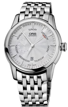 Oris Artelier Small Second Pointer Day Men's Watch 01 745 7666 4051-07 8 23 77