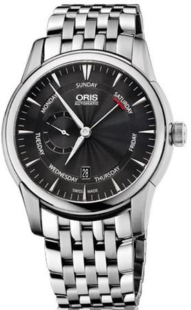 Oris Artelier Small Second Pointer Day Men's Watch 01 745 7666 4054-07 8 23 77