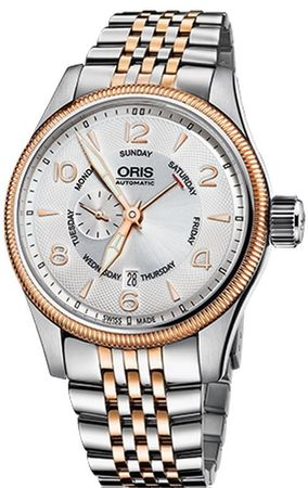 Oris Big Crown Small Second Pointer Day Men's Watch 01 745 7688 4361-07 8 22 32