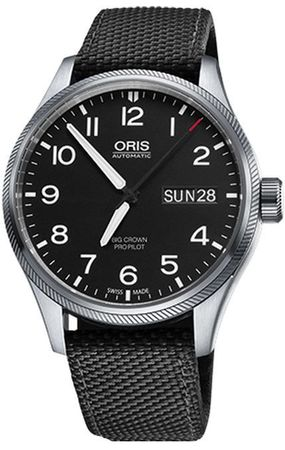 Oris Big Crown ProPilot Day Date  Men's Watch 01 752 7698 4164-07 5 22 15FC