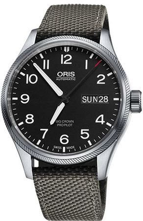 Oris Big Crown ProPilot Day Date  Men's Watch 01 752 7698 4164-07 5 22 17FC