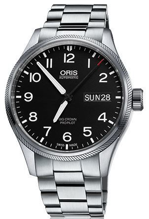 Oris Big Crown ProPilot Day Date  Men's Watch 01 752 7698 4164-07 8 22 19