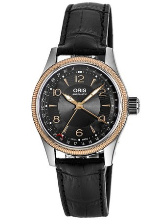 Oris Big Crown Pointer Date Rose Gold Men's Watch 01 754 7679 4334-07 5 20 76FC