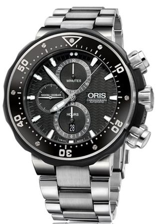 Oris ProDiver Chronograph  Men's Watch 01 774 7683 7154-Set