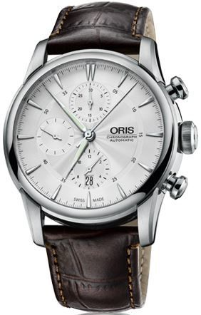 Oris Artelier Chronograph  Men's Watch 01 774 7686 4051-07 1 23 73FC