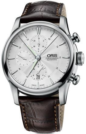 Oris Artelier Chronograph  Men's Watch 01 774 7686 4051-07 5 23 70FC