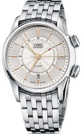 Oris Artelier Alarm  Men's Watch 01 908 7607 4051-Set-MB
