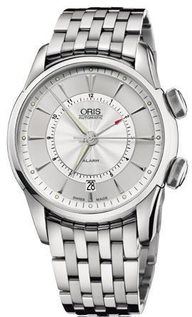 Oris Artelier Alarm  Men's Watch 01 908 7607 4091-Set-MB