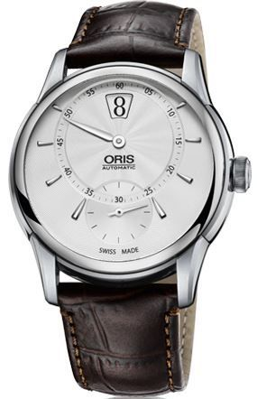 Oris Artelier Jumping Hour  Men's Watch 01 917 7702 4051-07 1 21 73FC