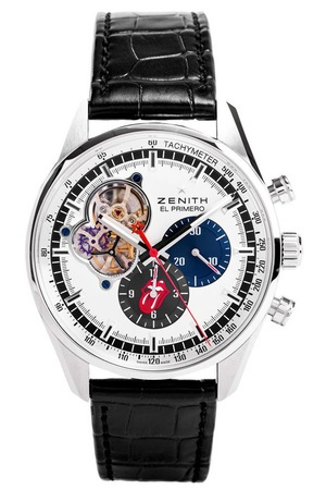 Zenith El Primero Chronomaster 1969 Tribute To Rolling Stones Men's Watch 03.2048.4061/77.C496