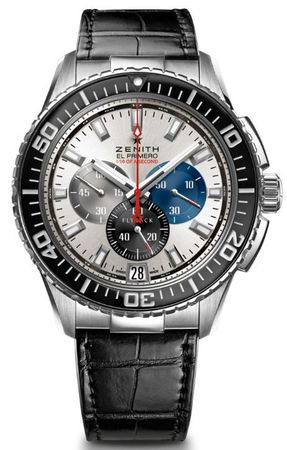 Zenith El Primero Stratos Flyback Striking 10th Men's Watch 03.2062.4057/69.C714