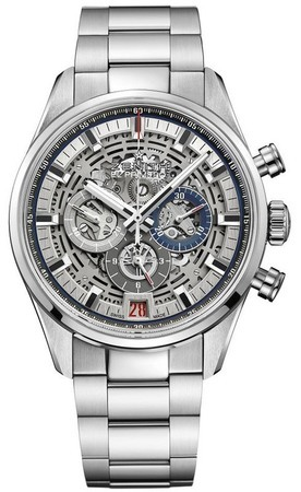 Zenith Chronomaster El Primero Full Open Stainless Steel Men's Watch 03.2081.400/78.M2040