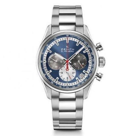 Zenith Chronomaster El Primero 38mm Blue Dial Stainless Steel Men's Watch 03.2150.400/53.M2150