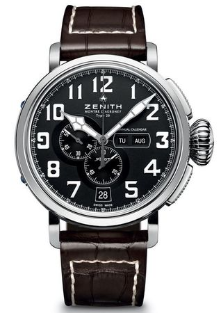 Zenith Pilot Montre d'Aeronef Type 20 Annual Calendar  Men's Watch 03.2430.4054/21.C721