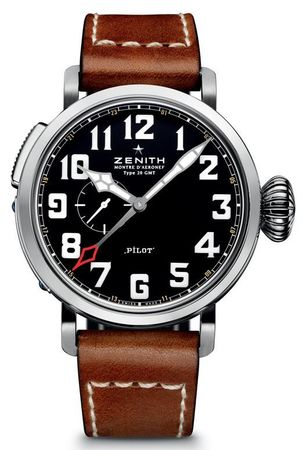 Zenith Pilot Montre d'Aeronef Type 20 GMT  Men's Watch 03.2430.693/21.C723