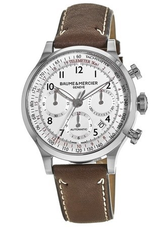 Baume & Mercier Capeland Chronograph 42mm  Men's Watch 10000