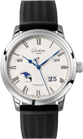 Glashutte Original Art & Technik Senator Perpetual Calander  Men's Watch 100-02-22-12-04