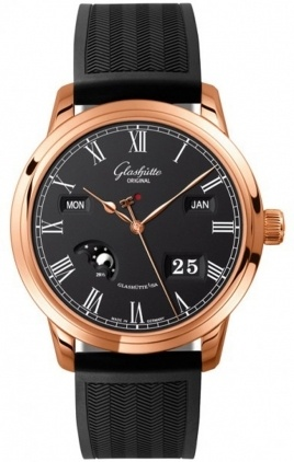 Glashutte Original Quintessentials Senator Perpetual Calendar  Men's Watch 100-02-25-05-04