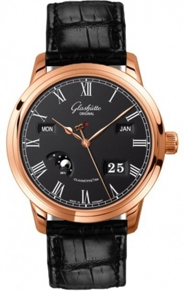 Glashutte Original Quintessentials Senator Perpetual Calendar  Men's Watch 100-02-25-05-05