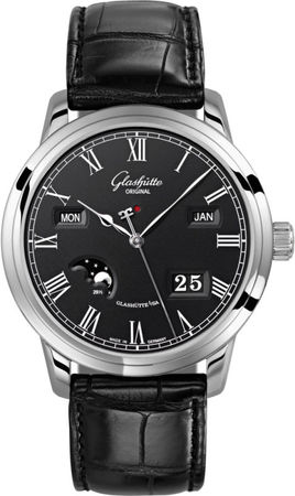 Glashutte Original Art & Technik Senator Perpetual Calander  Men's Watch 100-02-25-12-05