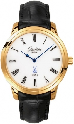 Glashutte Original Quintessentials Senator Meissen  Men's Watch 100-10-01-01-04