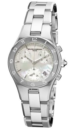 Baume & Mercier Linea Quartz Chronograph  Women's Watch 10012