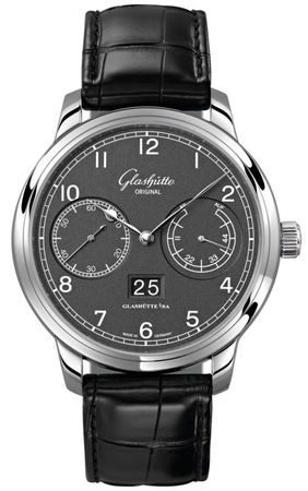 Glashutte Original Quintesssentials Senator  Observer  Men's Watch 100-14-02-02-04