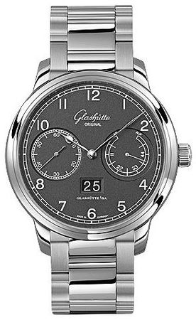 Glashutte Original Quintesssentials Senator  Observer  Men's Watch 100-14-02-02-14