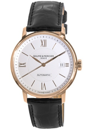Baume & Mercier Classima Executives Automatic 39mm Rose Gold Men's Watch 10037