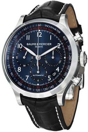 Baume & Mercier Capeland Chronograph 44mm  Men's Watch 10065