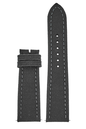 Breitling Canvas 24-20mm Anthracite Canvas Men's Strap 100W