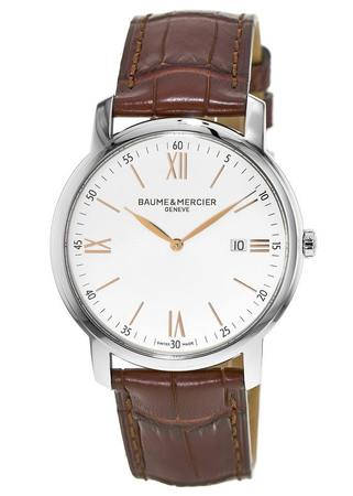 Baume & Mercier Classima Executives Quartz Silver Dial Men's Watch 10144