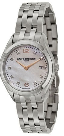 Baume & Mercier Clifton Quartz  Women's Watch 10176