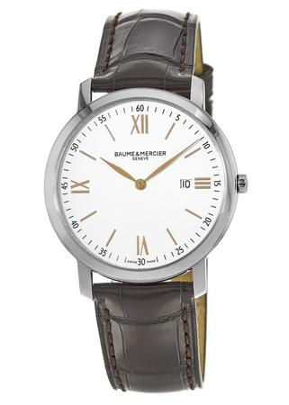 Baume & Mercier Classima Quartz White Dial Men's Watch 10181