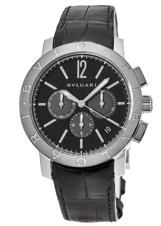 Bulgari Black  Chronograph Men's Watch 102043