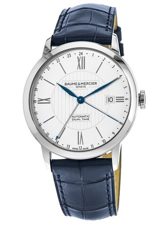 Baume & Mercier Classima Automatic Dual Time Men's Watch 10272