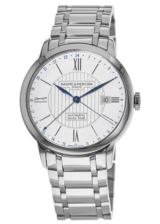 Baume & Mercier Classima Automatic Dual Time Men's Watch 10273
