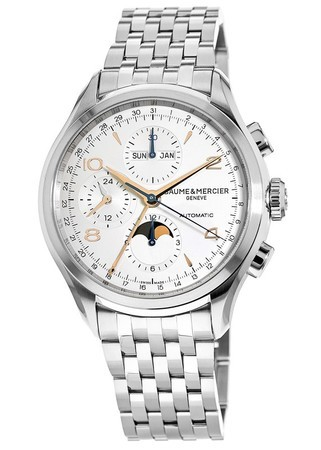 Baume & Mercier Clifton Automatic Stainless Steel Men's Watch 10279