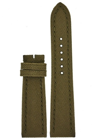 Breitling Canvas 24-20mm Military Green Men's Strap 105W