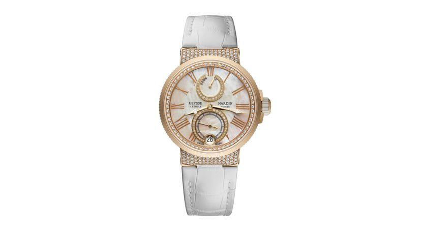 Ulysse Nardin Marine Chronometer  Women's Watch 1182-160C/490