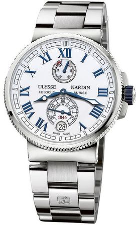 Ulysse Nardin Marine Chronometer Manufacture 43mm  Men's Watch 1183-126-7m/40