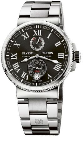 Ulysse Nardin Marine Chronometer Manufacture 43mm  Men's Watch 1183-126-7M/42