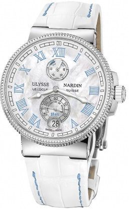 Ulysse Nardin Marine Chronometer Manufacture 43mm  Women's Watch 1183-126B/430