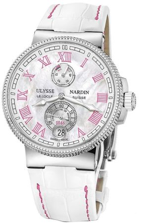Ulysse Nardin Marine Chronometer Manufacture 43mm  Women's Watch 1183-126B/470