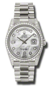 Rolex Day-Date   Men's Watch 118389-MOPDPR