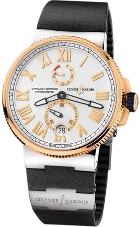 Ulysse Nardin Marine Chronometer Manufacture 45mm  Men's Watch 1185-122-3T/41