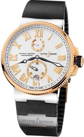 Ulysse Nardin Marine Chronometer Manufacture 45mm  Men's Watch 1185-122-3T/41 V2