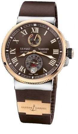 Ulysse Nardin Marine Chronometer Manufacture 45mm  Men's Watch 1185-126-3/45
